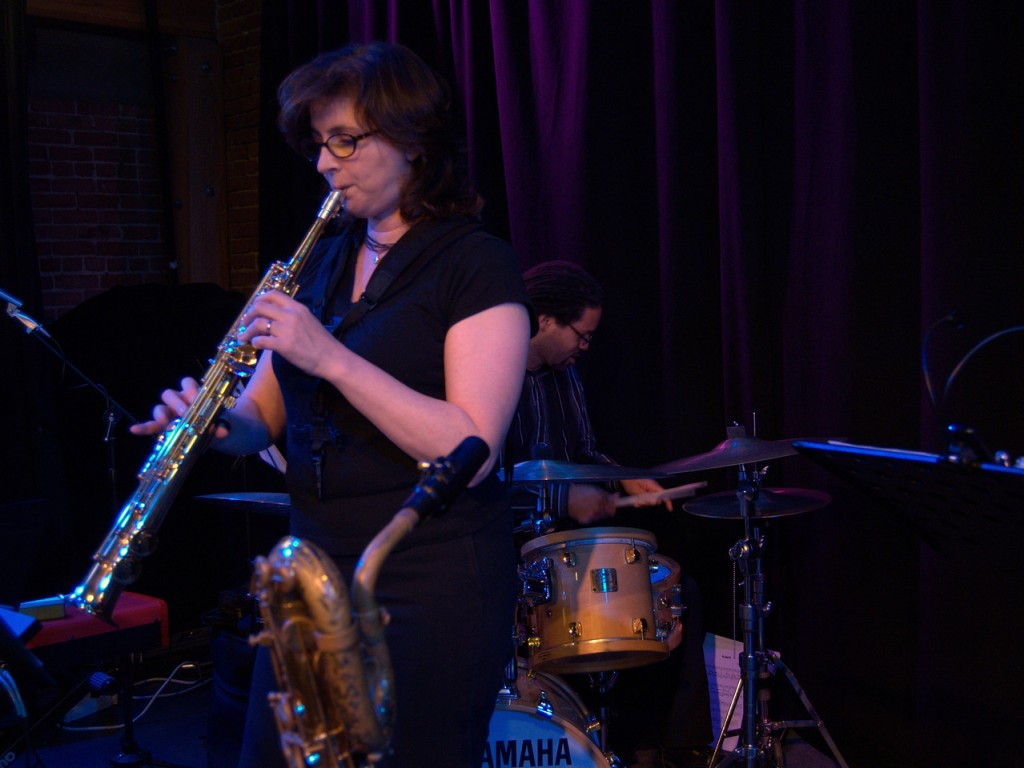 Resonance Jazz at Rhythmix - Georgianna Krieger Saxophone