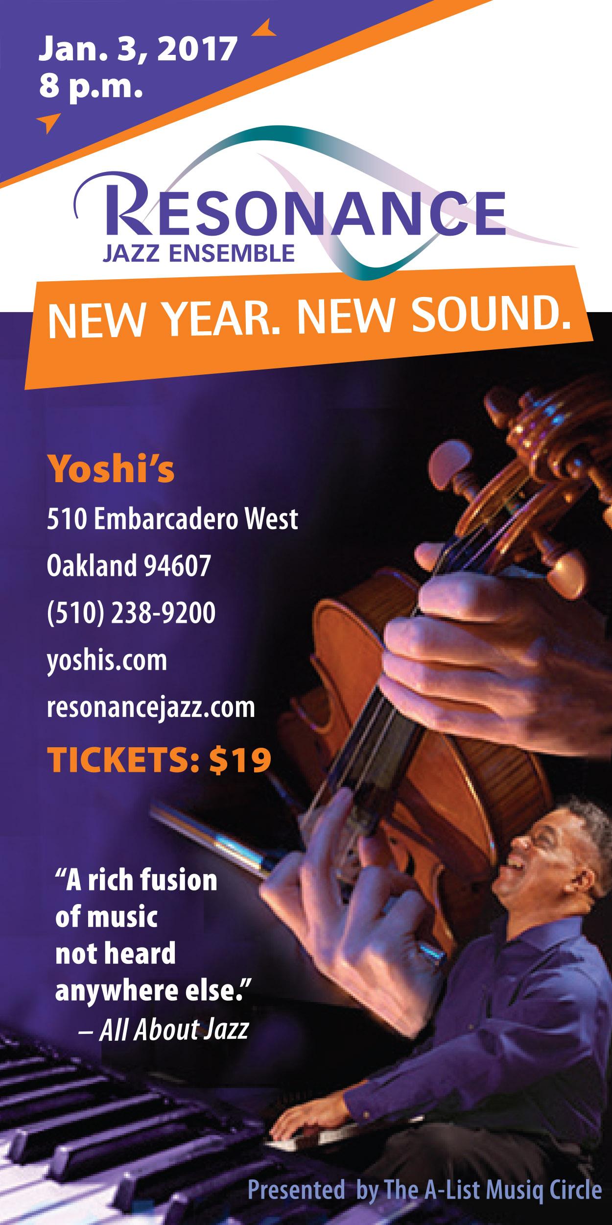 Resonance Jazz at Yoshi